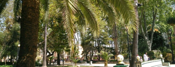 Parque María Cristina is one of Alex.