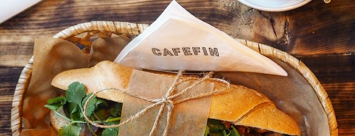 Cafefin is one of The 15 Best Places for Sandwiches in Prague.