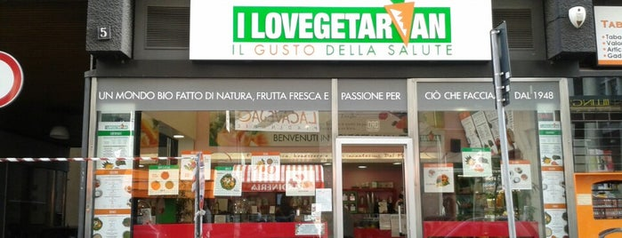 I Lovegetarian is one of Mangiare vegan a Milano.