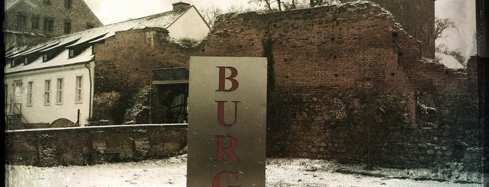 Burg Beeskow is one of Brandenburg Blog.