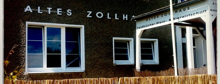 Altes Zollhaus is one of Brandenburg Blog.