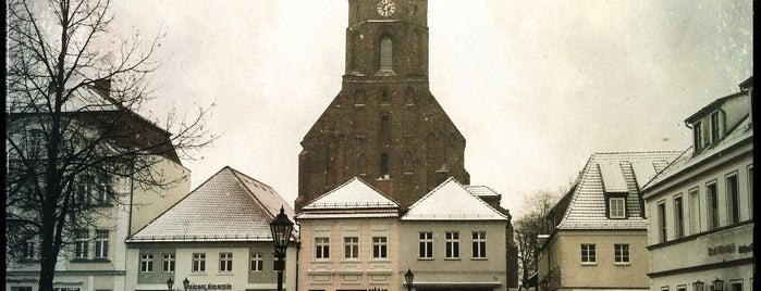 Marktplatz Beeskow is one of Brandenburg Blog.