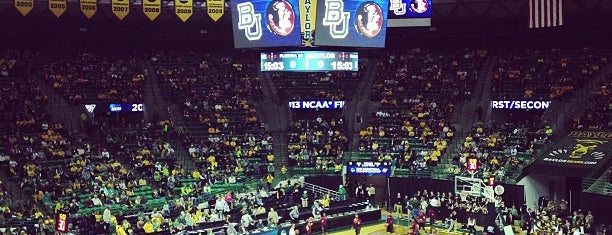 Ferrell Center is one of Sports Venues I've Worked At.