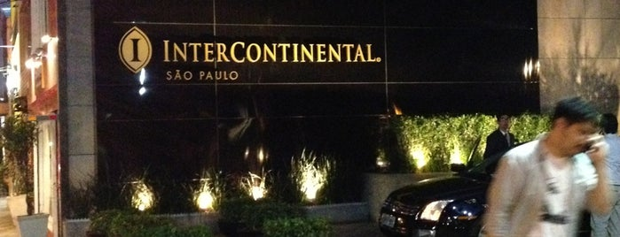 InterContinental São Paulo is one of Sugestoes de Hoteis.