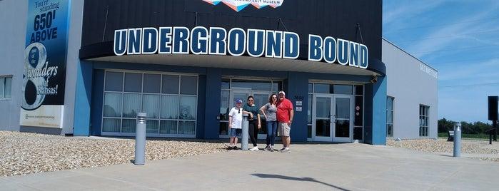 Kansas Underground Salt Museum is one of Ta-Done.