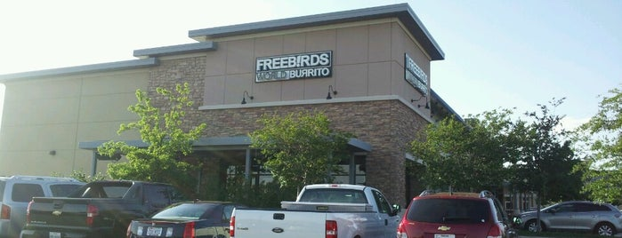 Freebirds World Burrito is one of Done.