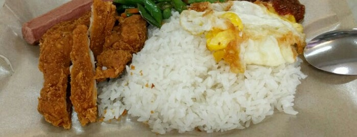 Tian Tian Nasi Lemak is one of Greasy Spoon Badge venues.