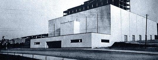 Velké kino is one of Baťa ve Zlíně.