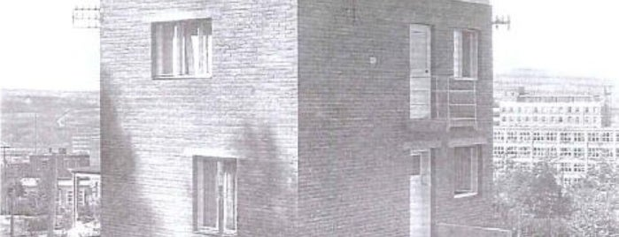Vzorový rodinný dům - typ Svedlund is one of Baťa ve Zlíně.