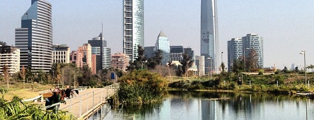 Parque Bicentenario is one of Santiago.