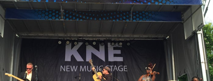 KNE New Music Stage is one of The 15 Best Music Venues in Milwaukee.