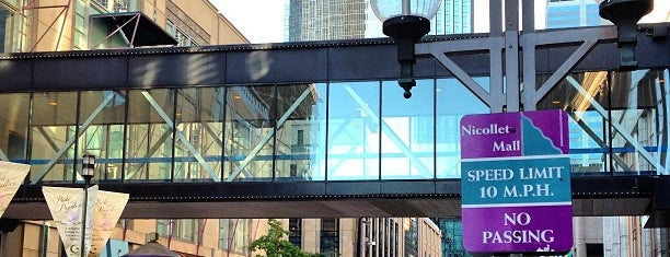 Nicollet Mall is one of MN.