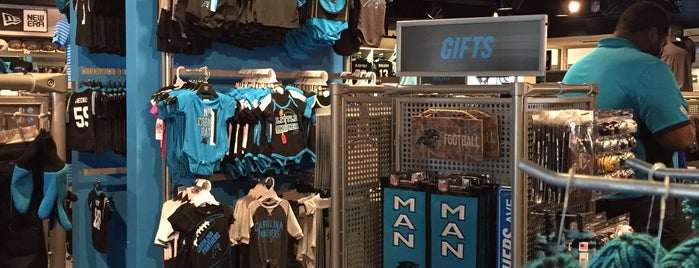 Carolina Panthers Team Store is one of Explore NC.