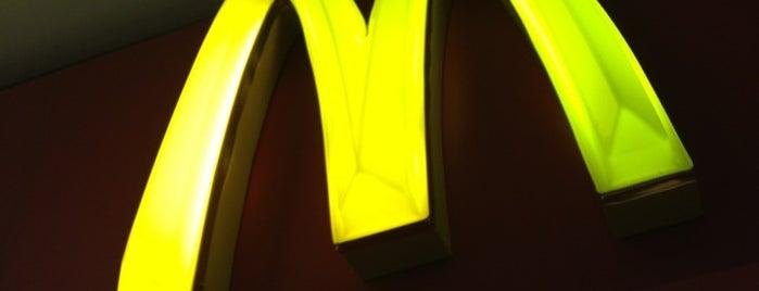 McDonald's is one of Comerrrr.