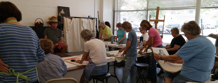 Crossroads Art Center is one of Midtown Art Venues.