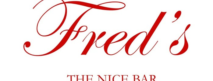 Fred's is one of Juan-les-pins / Nice / Milan.