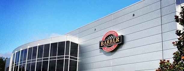 Barber Motorsports Park is one of Steel City.