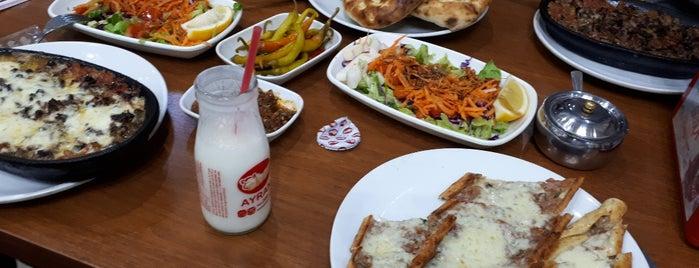 Gora Pide Salonu is one of Gezgin geyikler yemekte.