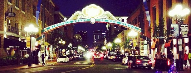 The Gaslamp Quarter is one of Whale's Vagina.