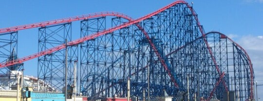 Blackpool Pleasure Beach is one of Places visited.