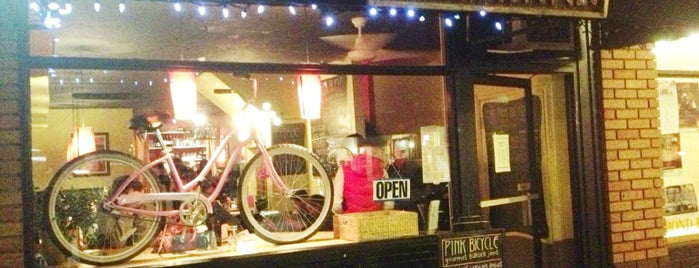 The Pink Bicycle is one of Victoria.