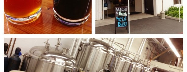 Helm's Brewing Co. is one of Breweries - Southern CA.