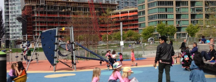 Gantry Plaza Playground is one of Best Spots for Kids - NYC.