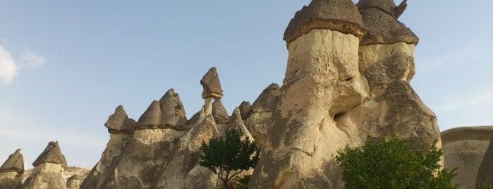 Peri Bacaları is one of Kapadokya.
