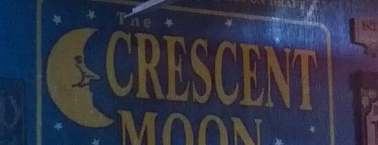 Crescent Moon Ale House is one of Cracken's Matchbook Collection.