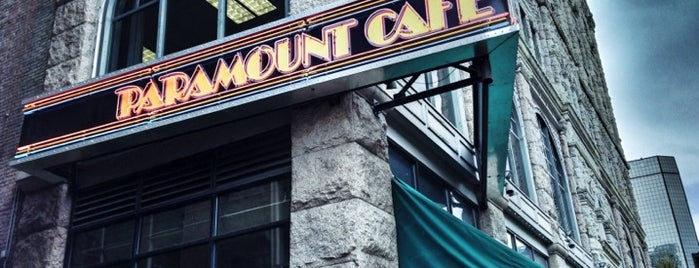 Paramount Cafe is one of Rocky Mountain High.