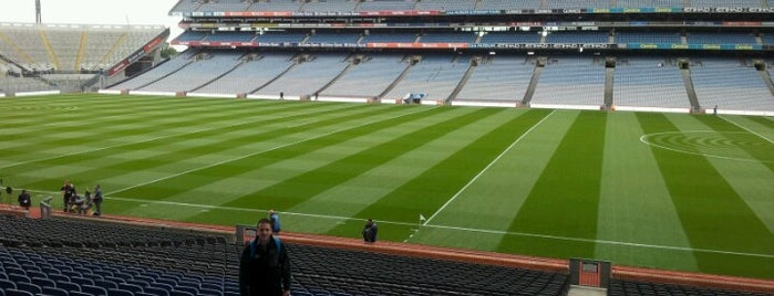 Croke Park is one of UK & Ireland Pro Rugby Grounds.