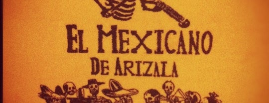 El Mexicano de Arizala is one of Restaurants.