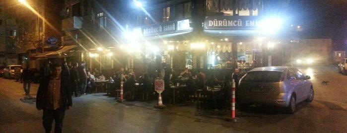 Dürümcü Emmi is one of istanbulda arka sokak lezzetleri.