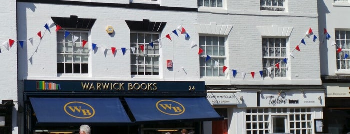 Warwick Books is one of Guardian Recommended Independent Bookshops.