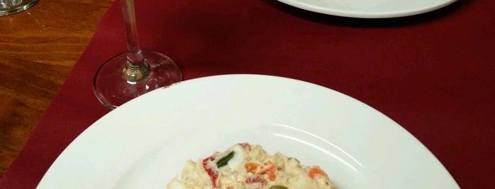 La Carboneria is one of comer.