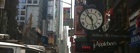Hilton Times Square is one of Strange Places and Oddities in NYC.