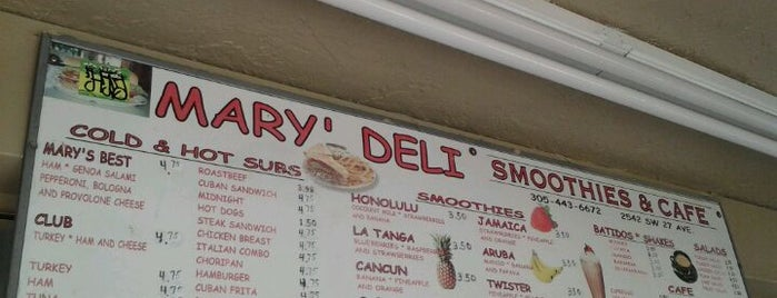 Mary's Deli is one of Good Eats.