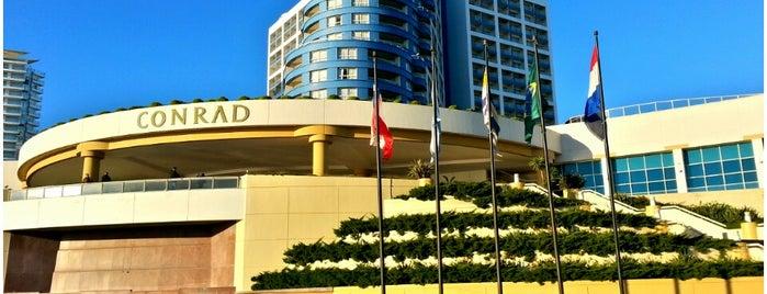 Conrad Punta del Este Resort and Casino is one of Uruguai.
