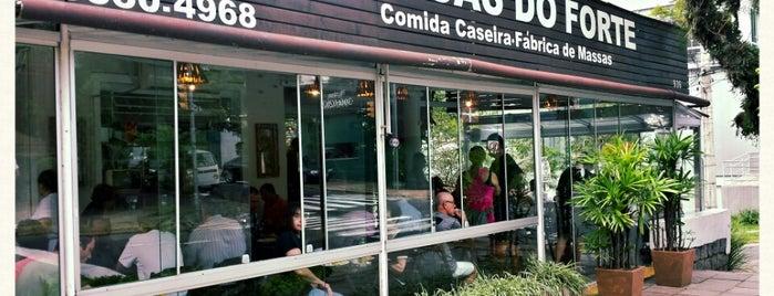 Massas do Forte is one of Restaurantes PoA.