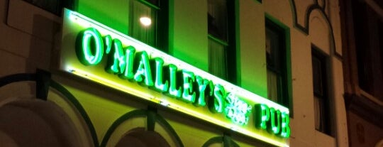 O'Malley's Stage Door Pub is one of Favorites.