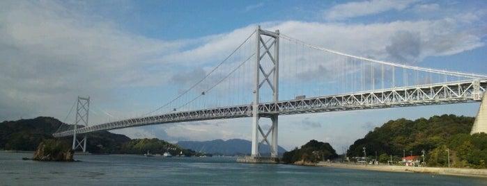 Innoshima Bridge is one of 景色◎.