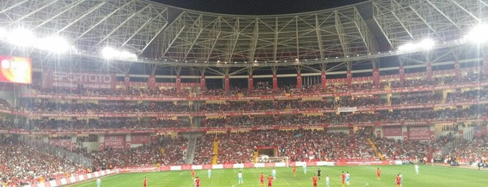 Antalya Stadyumu is one of AntaLya :)).
