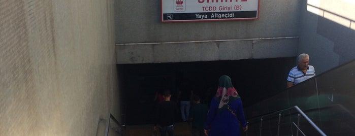 Sıhhiye Metro İstasyonu (M1) is one of Ankara Metro İstasyonları | Ankara Subway Stations.