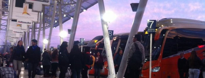Terminal Alameda is one of QR.