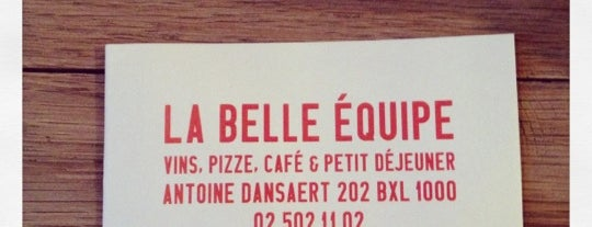 La Belle Equipe is one of Some good spots in Bx..