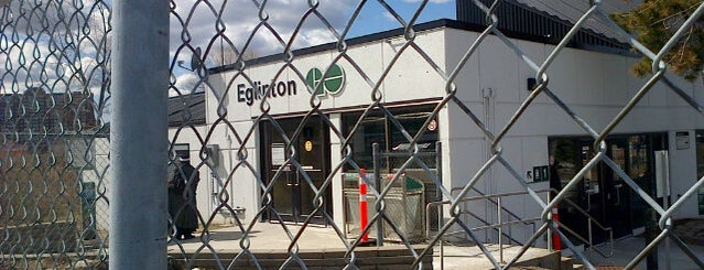 Eglinton GO Station is one of Places.