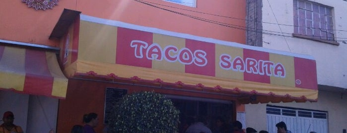 Tacos sarita is one of a probar.