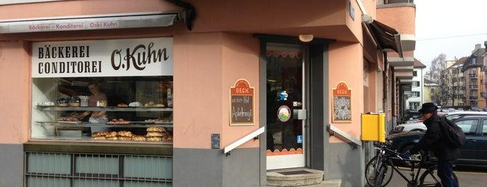 Konditorei-Bäckerei O.Kuhn is one of Zuerich.
