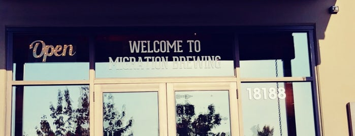 Migration Brewing Pub & Production Facility is one of JBWL.