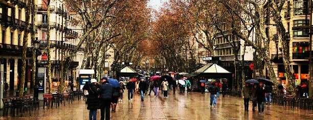 La Rambla is one of Sevdigim yerler.